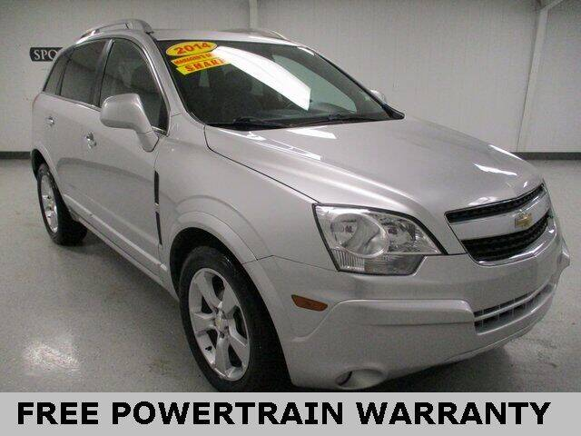 2014 Chevrolet Captiva Sport for sale at Sports & Luxury Auto in Blue Springs MO