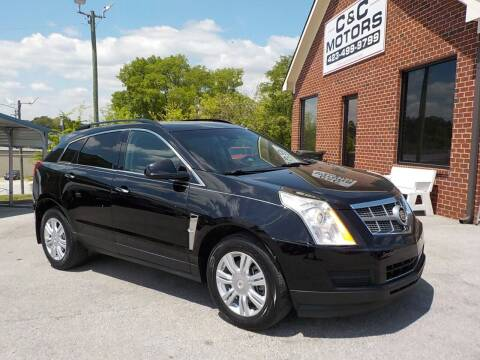 2011 Cadillac SRX for sale at C & C MOTORS in Chattanooga TN