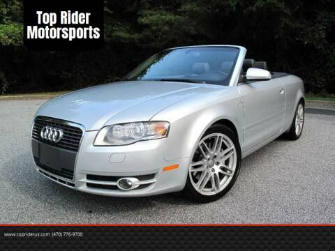 2007 Audi A4 for sale at Top Rider Motorsports in Marietta GA