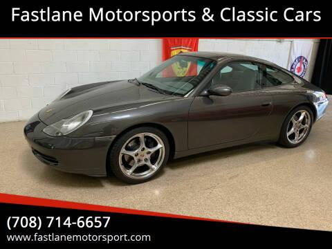 2001 Porsche 911 for sale at Fastlane Motorsports & Classic Cars in Addison IL