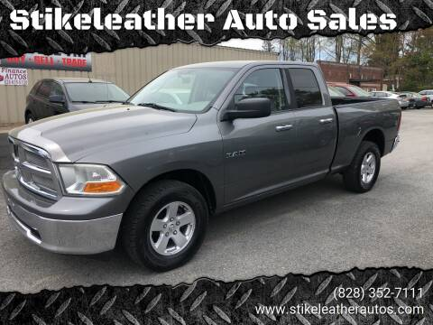 2010 Dodge Ram Pickup 1500 for sale at Stikeleather Auto Sales in Taylorsville NC