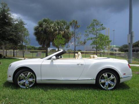 2012 Bentley Continental for sale at Auto Sport Group in Delray Beach FL