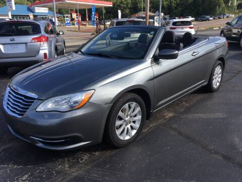2012 Chrysler 200 Convertible for sale at Rinaldi Auto Sales Inc in Taylor PA