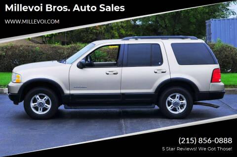 2002 Ford Explorer for sale at Millevoi Bros. Auto Sales in Philadelphia PA