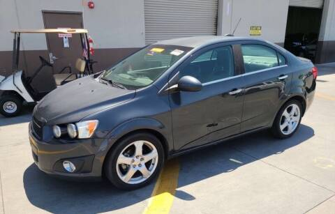 2015 Chevrolet Sonic for sale at SoCal Auto Auction in Ontario CA