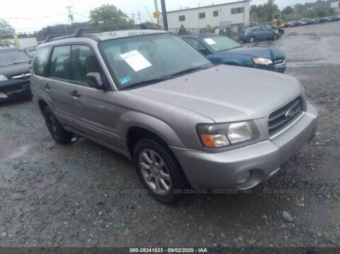 2004 Subaru Forester for sale at Route 28 Auto Sales in Canton MA
