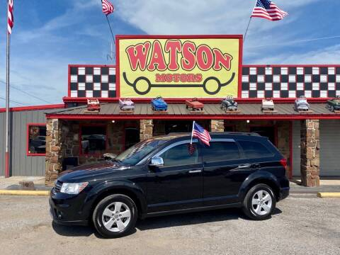 2012 Dodge Journey for sale at Watson Motors in Poteau OK