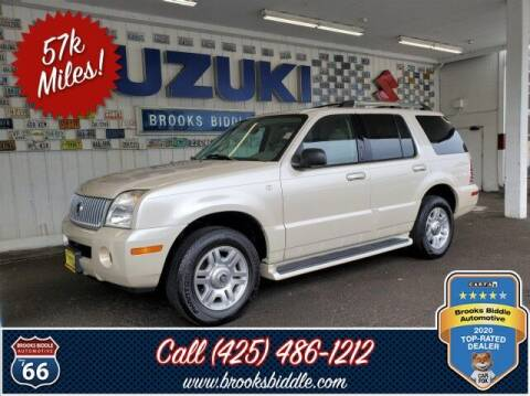 2005 Mercury Mountaineer for sale at BROOKS BIDDLE AUTOMOTIVE in Bothell WA