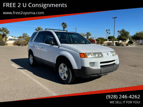 2004 Saturn Vue for sale at FREE 2 U Consignments in Yuma AZ