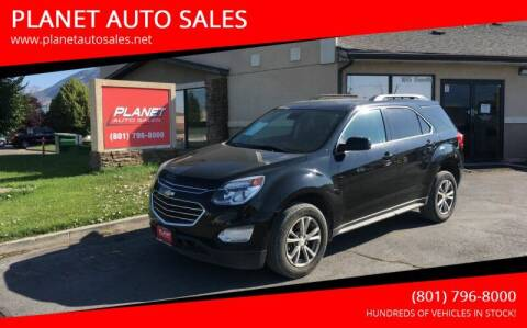 2016 Chevrolet Equinox for sale at PLANET AUTO SALES in Lindon UT