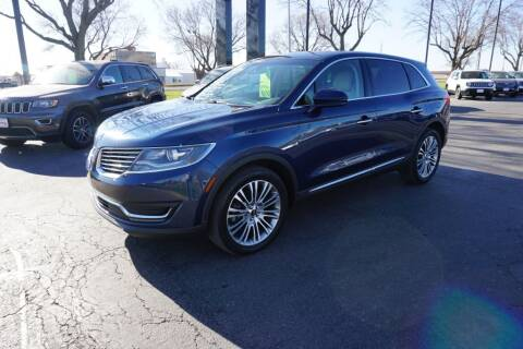 2017 Lincoln MKX for sale at Ideal Wheels in Sioux City IA