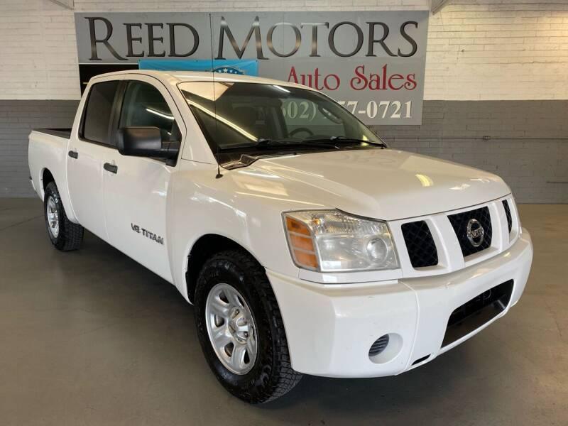 2007 Nissan Titan for sale at REED MOTORS LLC in Phoenix AZ