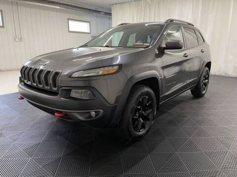 2015 Jeep Cherokee for sale at Monster Motors in Michigan Center MI