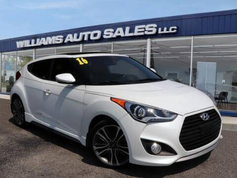 2016 Hyundai Veloster for sale at Williams Auto Sales, LLC in Cookeville TN