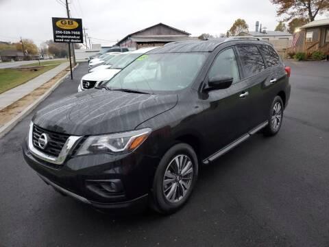 2020 Nissan Pathfinder for sale at G. B. ENTERPRISES LLC in Crossville AL