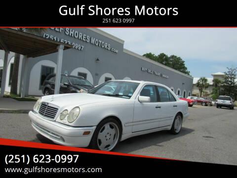 1999 Mercedes-Benz E-Class for sale at Gulf Shores Motors in Gulf Shores AL