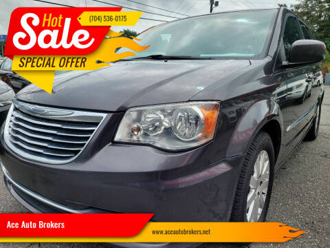 2016 Chrysler Town and Country for sale at Ace Auto Brokers in Charlotte NC