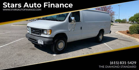 2003 Ford E-Series Cargo for sale at Stars Auto Finance in Nashville TN