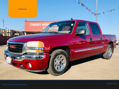 2006 GMC Sierra 1500 for sale at Credit World Auto Sales in Fresno CA
