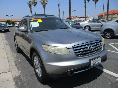 2008 Infiniti FX35 for sale at F & A Car Sales Inc in Ontario CA