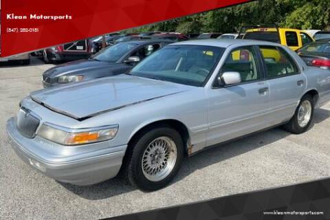 1996 Mercury Grand Marquis for sale at Klean Motorsports in Skokie IL