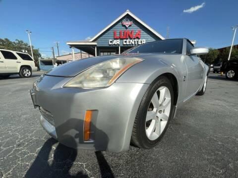 2005 Nissan 350Z for sale at LUNA CAR CENTER in San Antonio TX