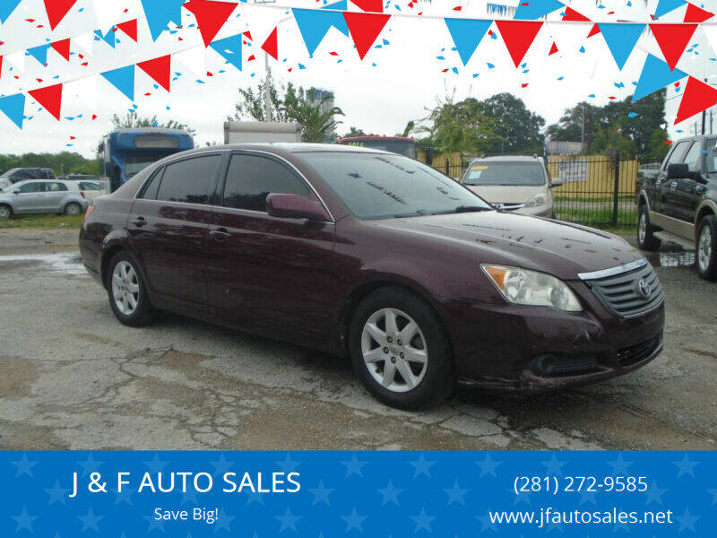 2009 Toyota Avalon for sale at J & F AUTO SALES in Houston TX
