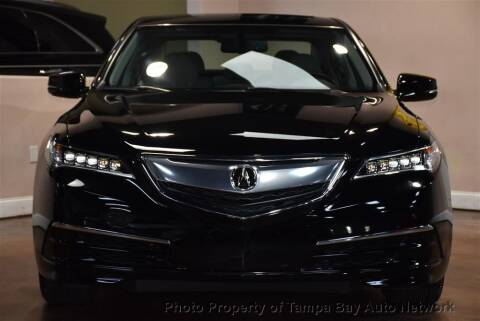 2017 Acura TLX for sale at Tampa Bay AutoNetwork in Tampa FL