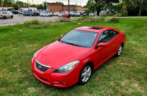2007 Toyota Camry Solara for sale at Cleveland Avenue Autoworks in Columbus OH