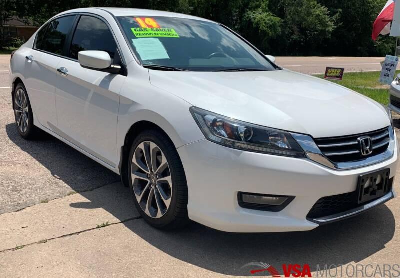 2014 Honda Accord for sale at VSA MotorCars in Cypress TX