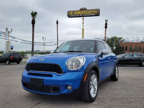 2013 MINI Countryman for sale at A MOTORS SALES AND FINANCE - 6226 San Pedro Lot in San Antonio TX