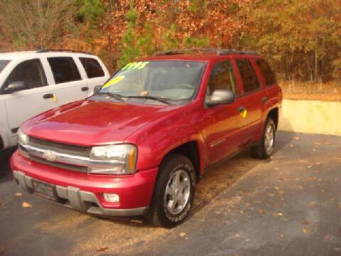 2003 Chevrolet TrailBlazer for sale at Mike Lipscomb Auto Sales in Anniston AL