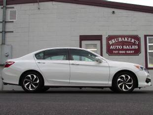 2017 Honda Accord for sale at Brubakers Auto Sales in Myerstown PA