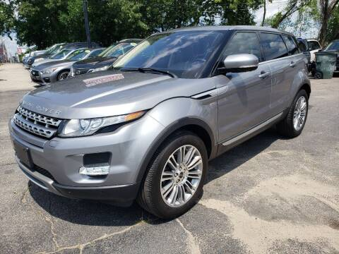 2012 Land Rover Range Rover Evoque for sale at Real Deal Auto Sales in Manchester NH