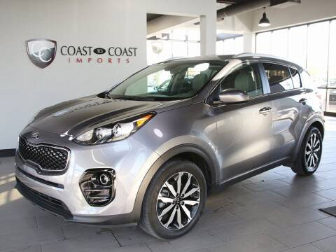 2017 Kia Sportage for sale at Coast to Coast Imports in Fishers IN