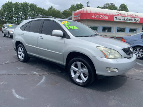 2004 Lexus RX 330 for sale at Doug White's Auto Wholesale Mart in Newton NC