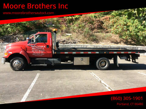 2008 Ford F-650 Super Duty for sale at Moore Brothers Inc in Portland CT