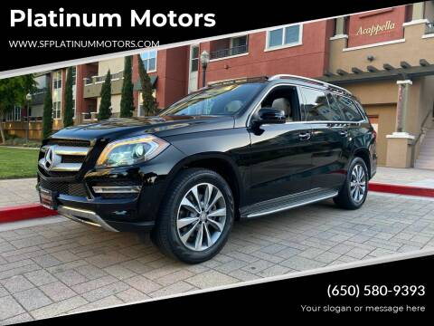 2014 Mercedes-Benz GL-Class for sale at Platinum Motors in San Bruno CA