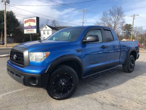 2007 Toyota Tundra for sale at Beachside Motors, Inc. in Ludlow MA