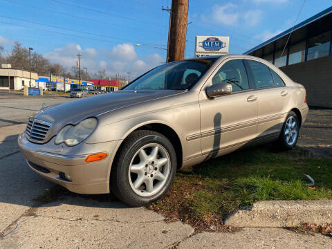 2002 Mercedes-Benz C-Class for sale at Abrams Automotive Inc in Cincinnati OH