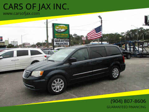 2014 Chrysler Town and Country for sale at CARS OF JAX INC. in Jacksonville FL
