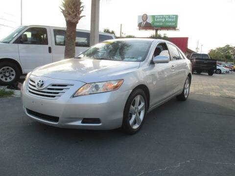 2009 Toyota Camry for sale at Affordable Auto Motors in Jacksonville FL