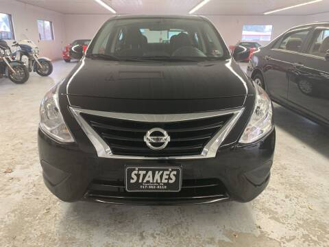 2017 Nissan Versa for sale at Stakes Auto Sales in Fayetteville PA