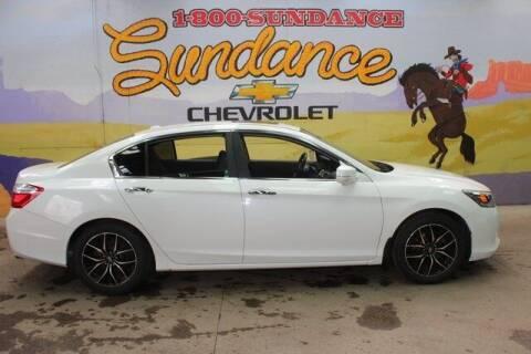 2013 Honda Accord for sale at Sundance Chevrolet in Grand Ledge MI