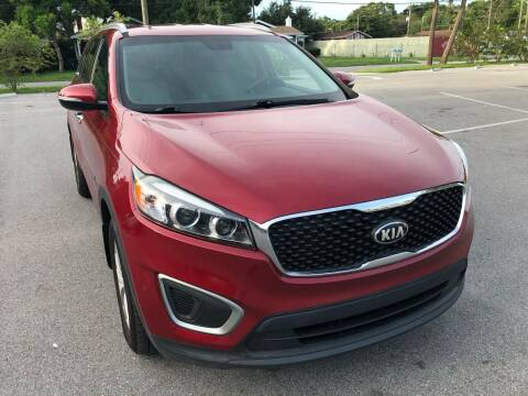 2016 Kia Sorento for sale at LUXURY AUTO MALL in Tampa FL