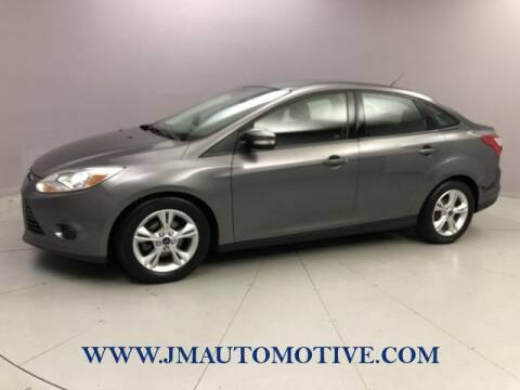 2014 Ford Focus for sale at J & M Automotive in Naugatuck CT