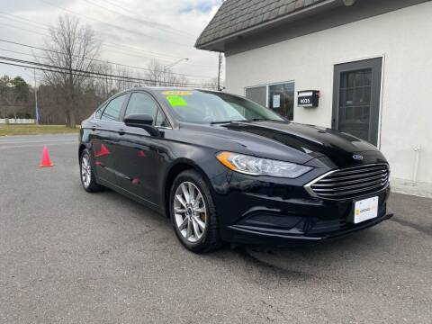 2017 Ford Fusion for sale at Vantage Auto Group in Tinton Falls NJ