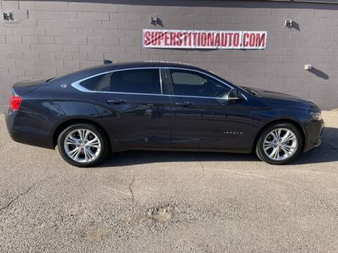 2014 Chevrolet Impala for sale at Superstition Auto in Mesa AZ