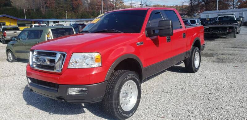 2005 Ford F-150 for sale at COOPER AUTO SALES in Oneida TN