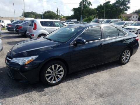 2015 Toyota Camry for sale at P S AUTO ENTERPRISES INC in Miramar FL